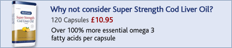 why not consider Super Strength Cod Liver Oil?